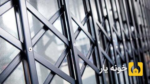 جوشکاری سیار در تهران - ساخت درب آکاردئونی در محل