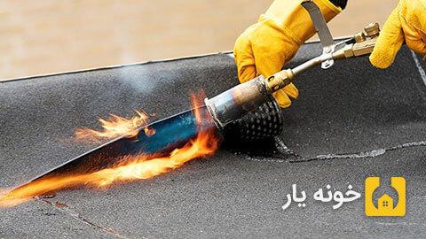 نصب ایزوگام - نصب ایزوگام در تهران - ترتیب مراحل نصب ایزوگام