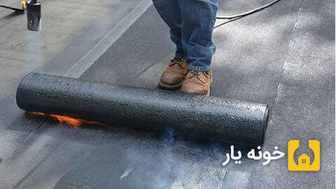 نصب ایزوگام - نصب ایزوگام در تهران - شیب بندی در نصب ایزوگام