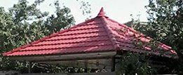 طراحی سقف شیروانی فلزی