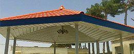 مدل های سقف شیروانی فلزی